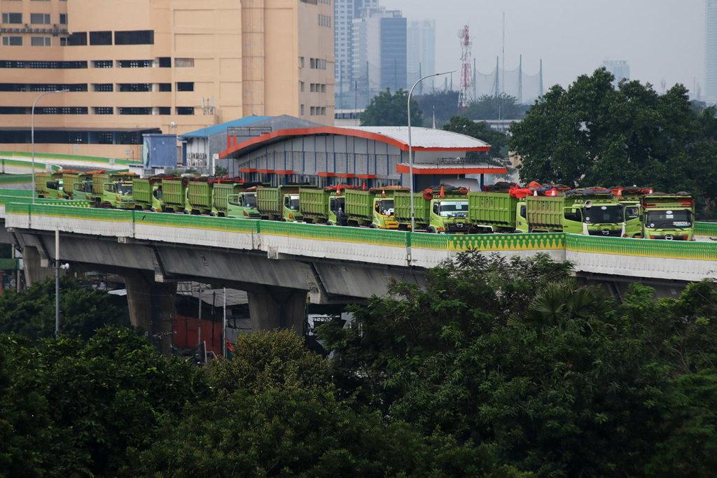 Transjakarta Gratiskan Layanan Tendean-Ciledug Hari ini
