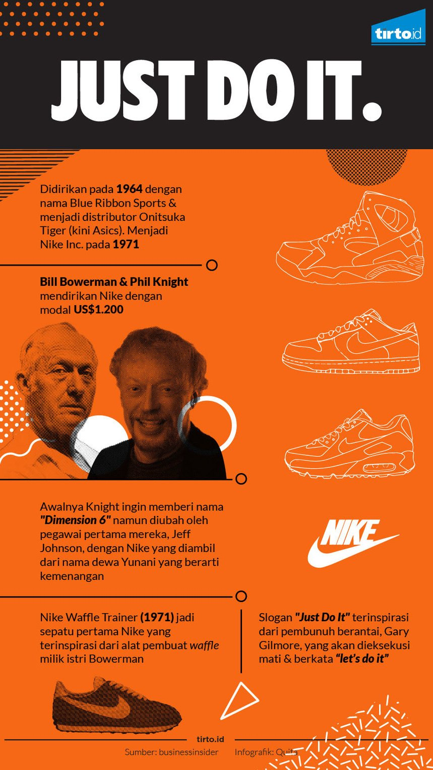 infografik just do it nike
