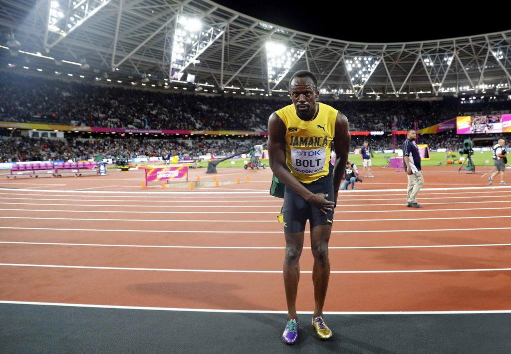 Usain Bolt Malah Cedera di Lomba Terakhirnya Sebelum Pensiun