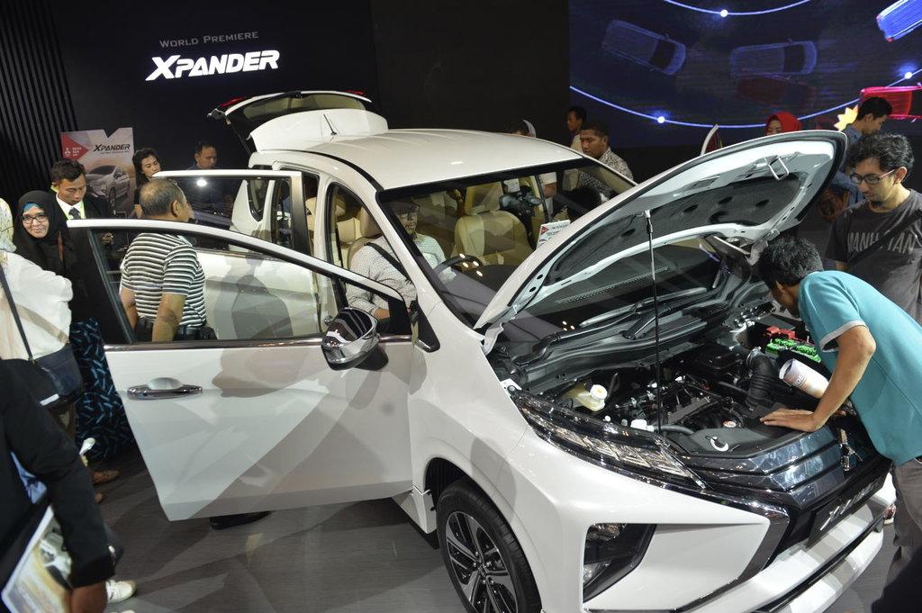 Mitsubishi Xpander Varian Mewah Laris Manis di GIIAS 2017