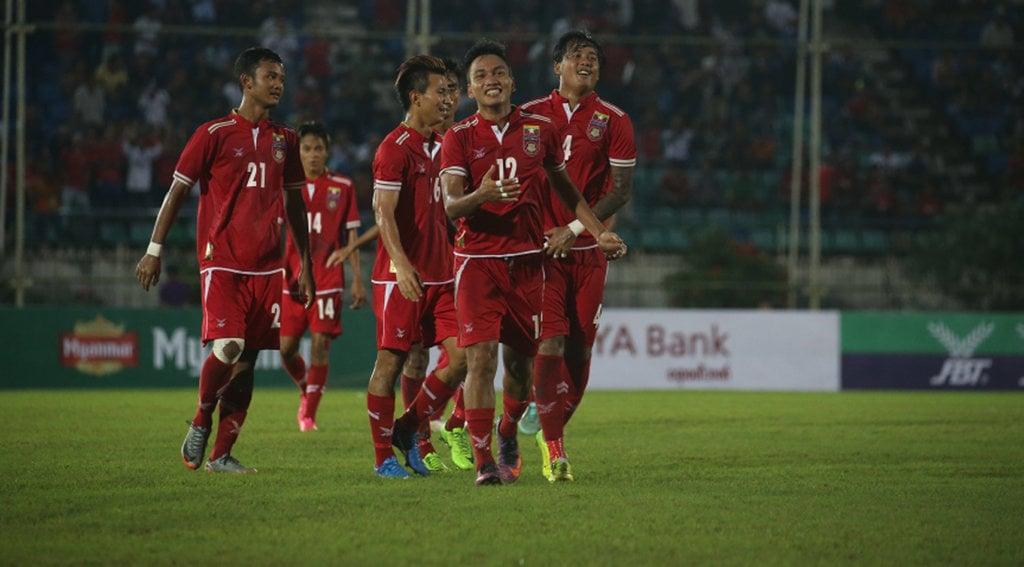 Thailand v Myanmar 1st half - YouTube