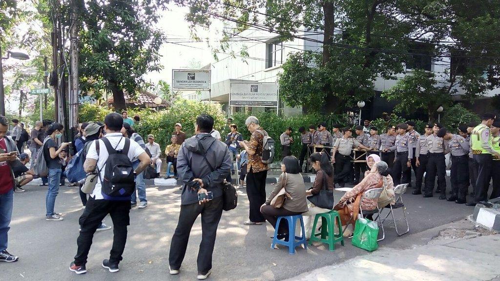 Polisi Blokade Seminar 1965/1966, Panitia: Ini Pembungkaman