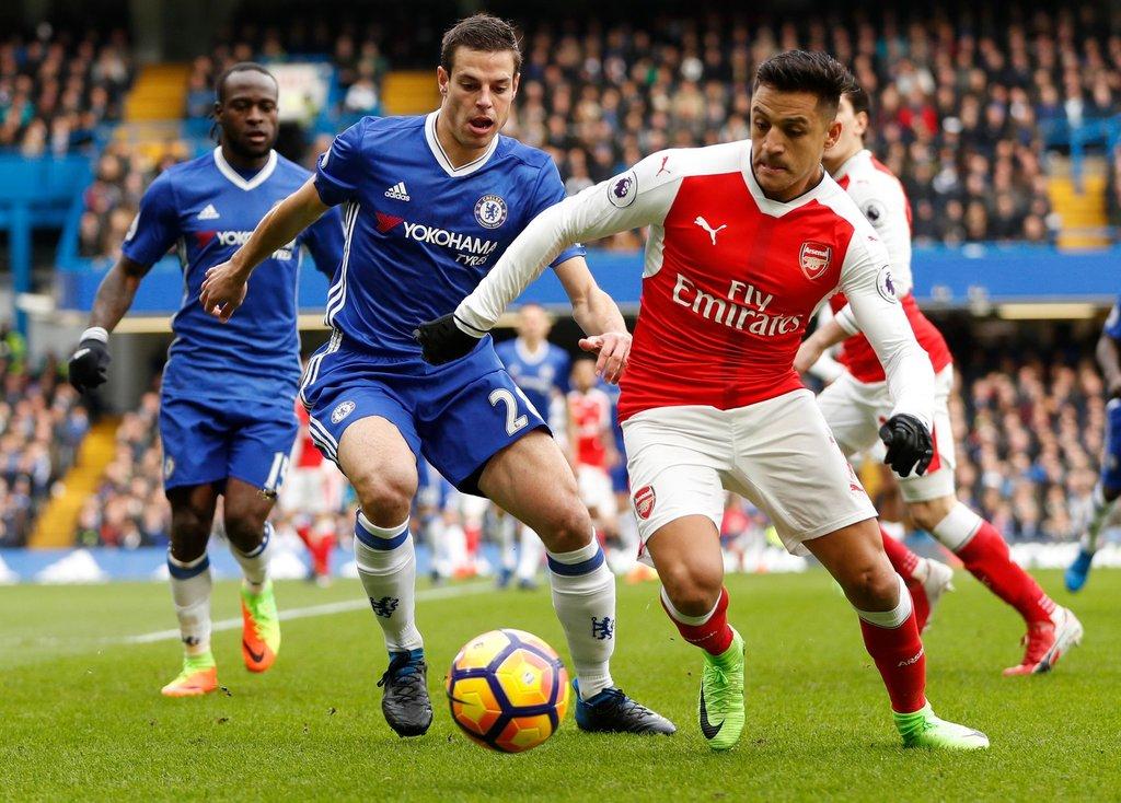 Image result for Prediksi Chelsea vs Arsenal 11 Januari 2018