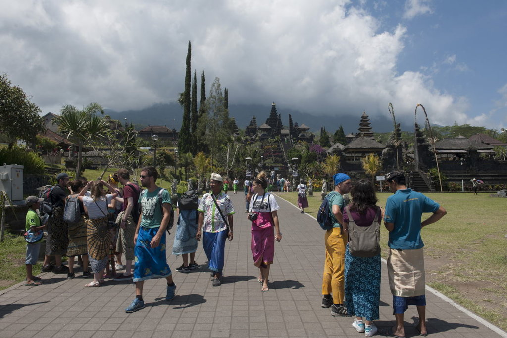 Gunung Agung Bali Siaga, 1.259 Masyarakat Mengungsi