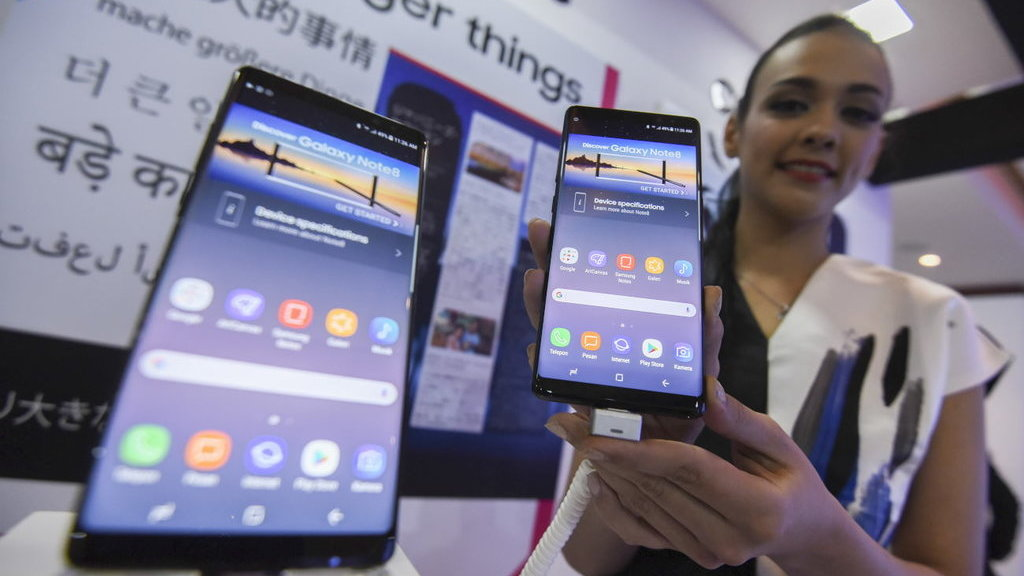 Harga Samsung Galaxy Note 8 Terbaru Di E Commerce Indonesia Tirto Id