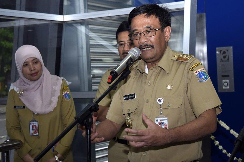 SKPD Jakarta Main Ketoprak Humor di Acara Perpisahan Djarot