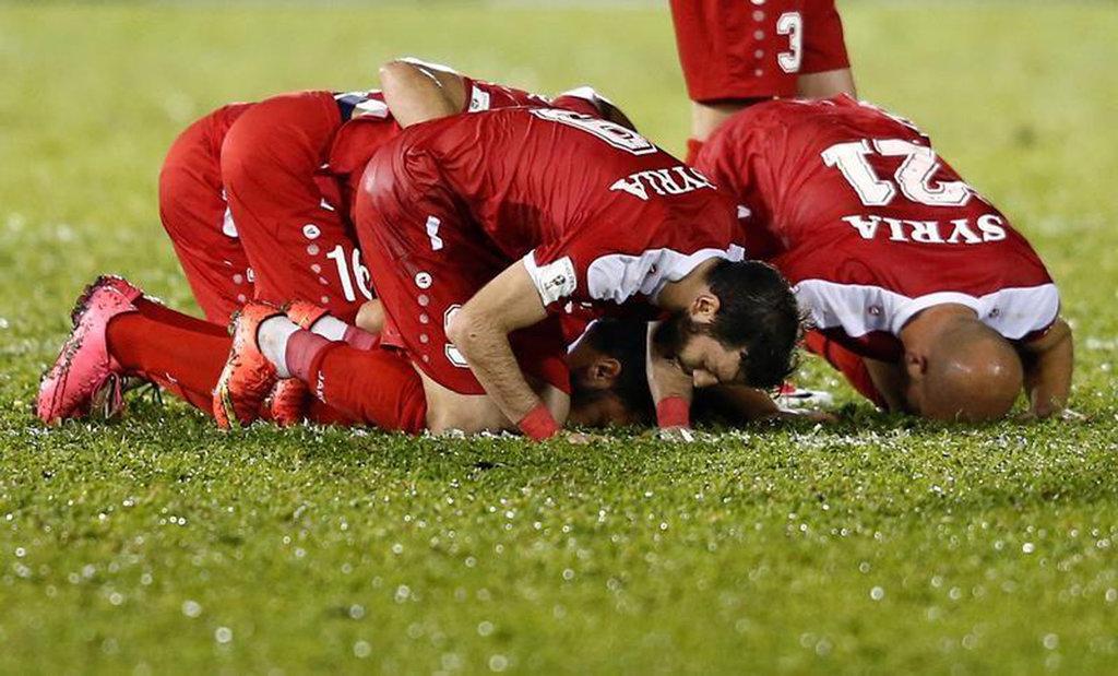 Perang Saudara Bikin Sepakbola Suriah Berantakan