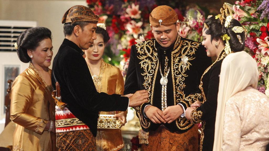 Siaran Langsung TV Pernikahan Kahiyang-Bobby Tak Boleh Berlebihan