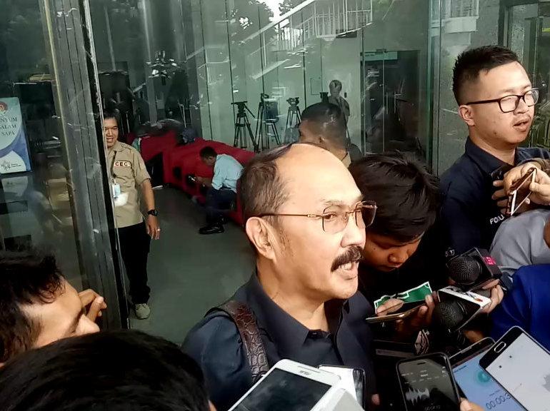 KPK Tahan Fredrich Yunadi Selama 20 Hari ke Depan