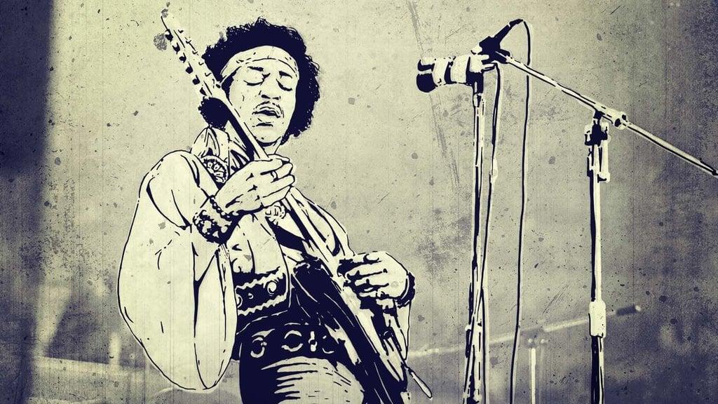 Jimi Hendrix Mati Muda, tapi Namanya Begitu Melegenda