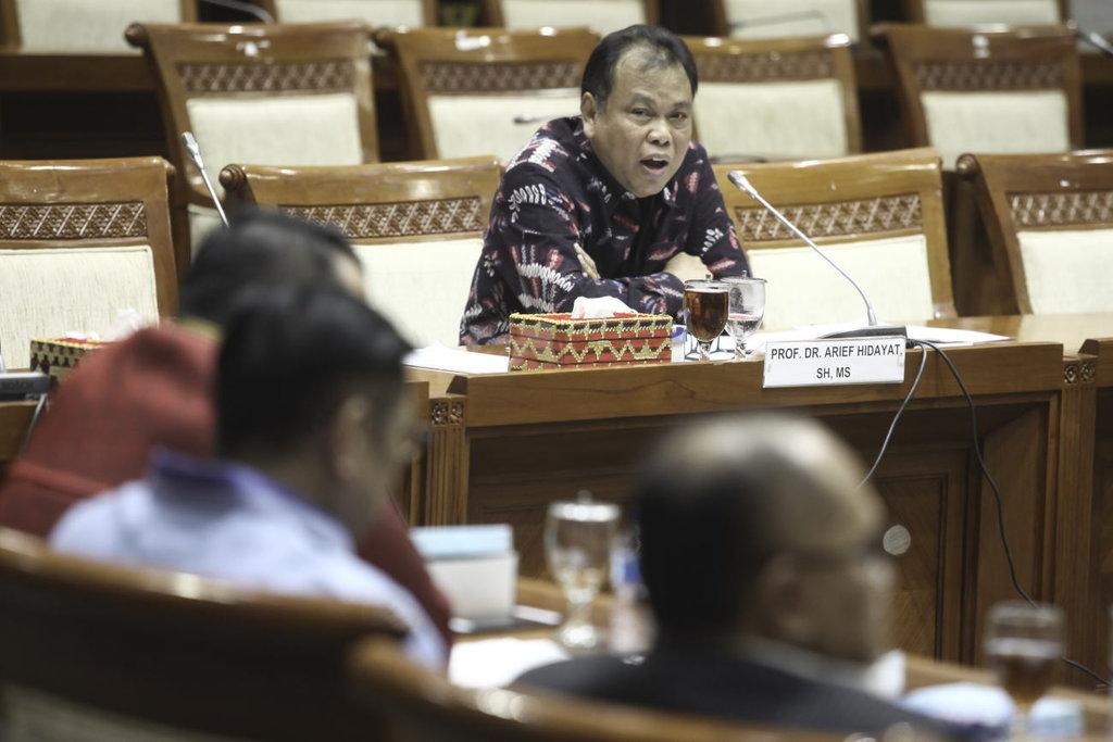 Dewan Etik MK Sudah Periksa Arief Hidayat dan Kaji Isu Lobi Politik