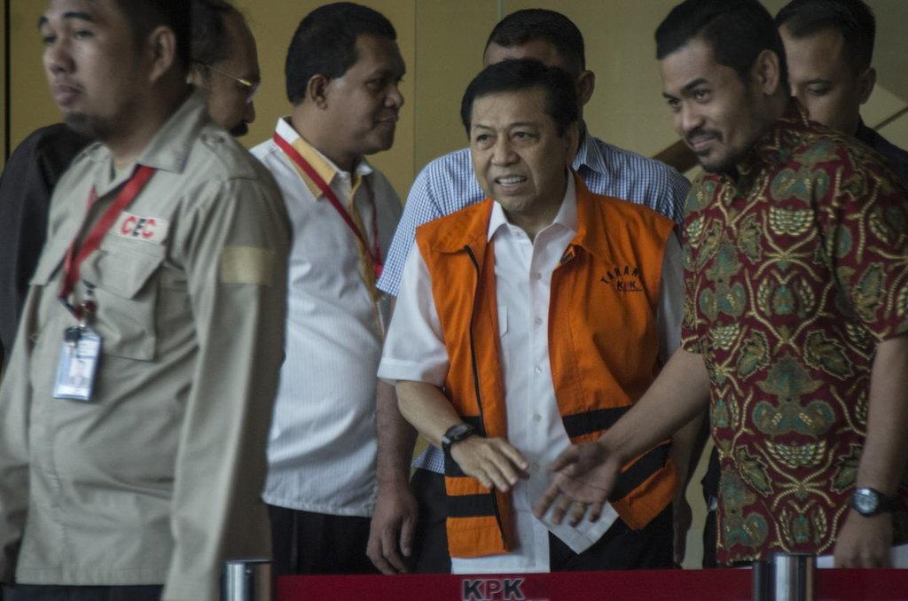 Sidang Setya Novanto akan Dipimpin Ketua Pengadilan Negeri Jakpus