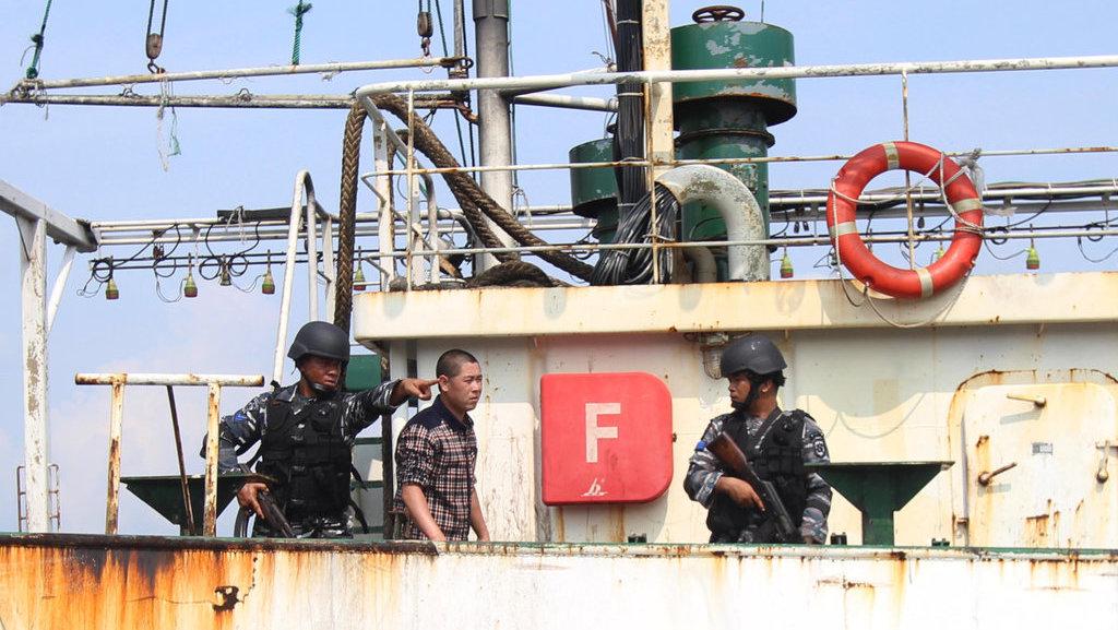 Pemerintah Cina Minta Indonesia Tak Menahan Kapal Nelayannya