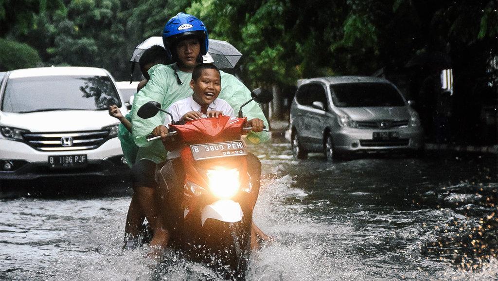 BNPB: Banjir Jakarta Mulai Surut Sore Ini Karena Hujan Reda