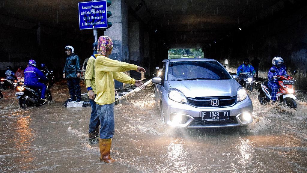 Hujan Lebat, Berikut Daerah Terdampak Banjir Jakarta Siang Ini