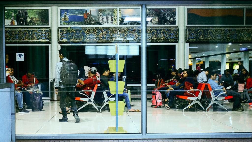 Dinding Underpass Terminal 3 Bandara Soekarno-Hatta Sempat Bocor