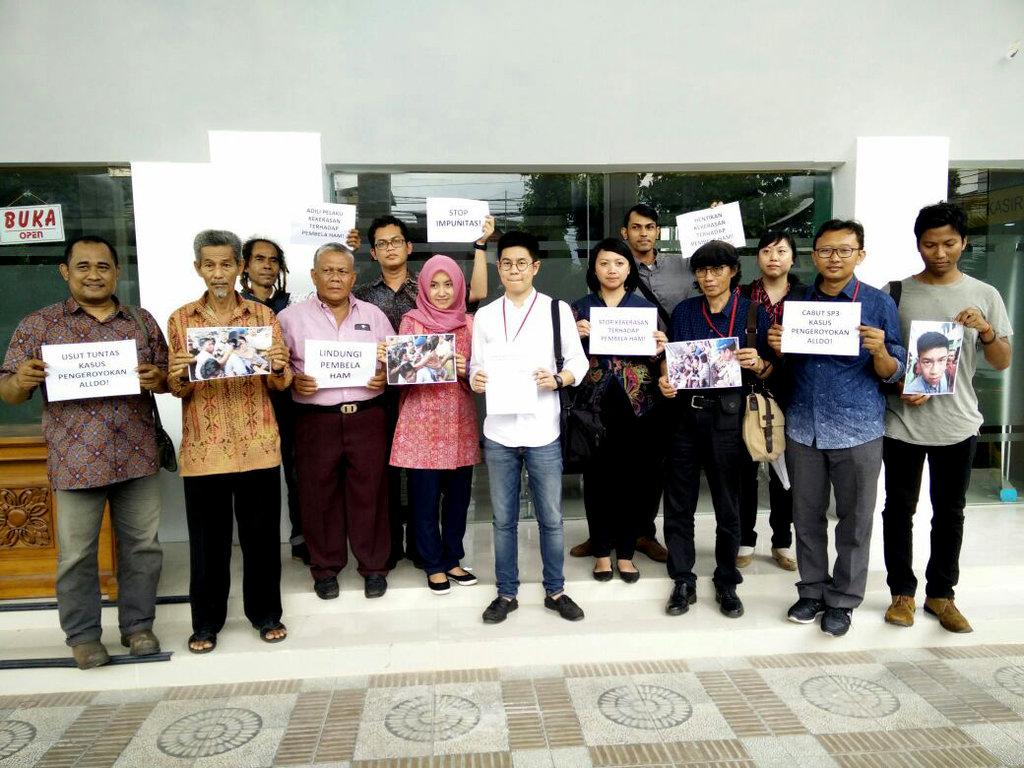"""Sebelum Ajukan Praperadilan, Alldo Mengaku Diajak """"Damai"""" Polisi"""
