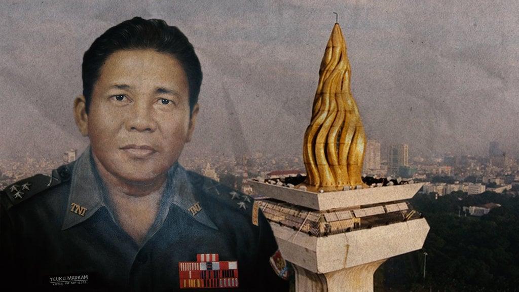 Markam: Disebut Menyumbang Emas Monas, Dipenjara oleh Soeharto - Tirto.ID