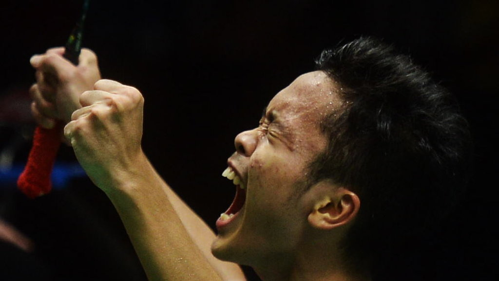Final Indonesia Masters 2018: Anthony Ginting vs Kazumasa ...