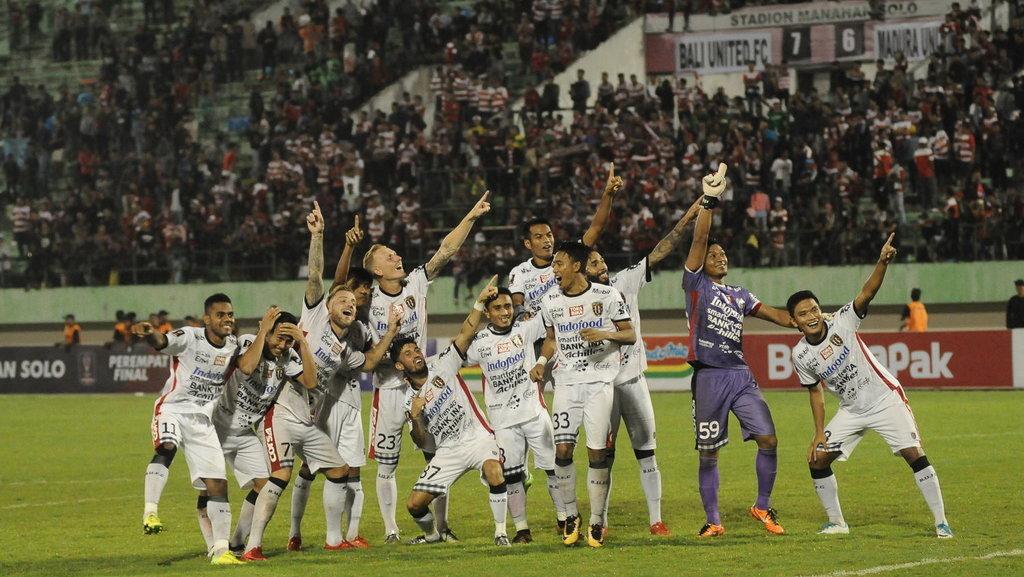 Suporter Yakin Bali United Tantang Persija di Final Piala Presiden