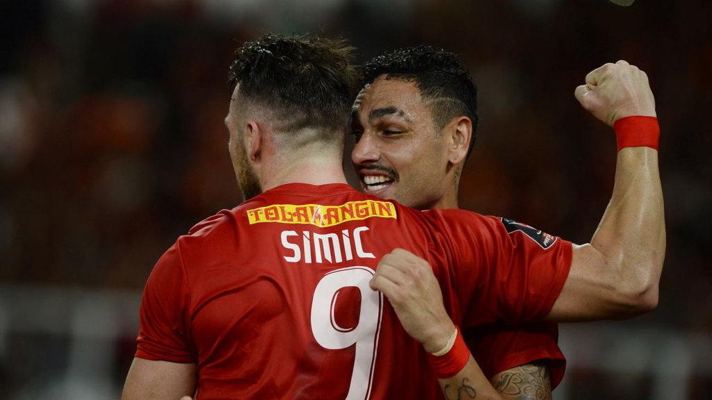 Hasil Persija vs Tampines Rovers 4-1, Marko Simic Cetak ...