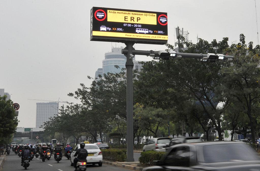 Hasil gambar untuk electronic road pricing jakarta