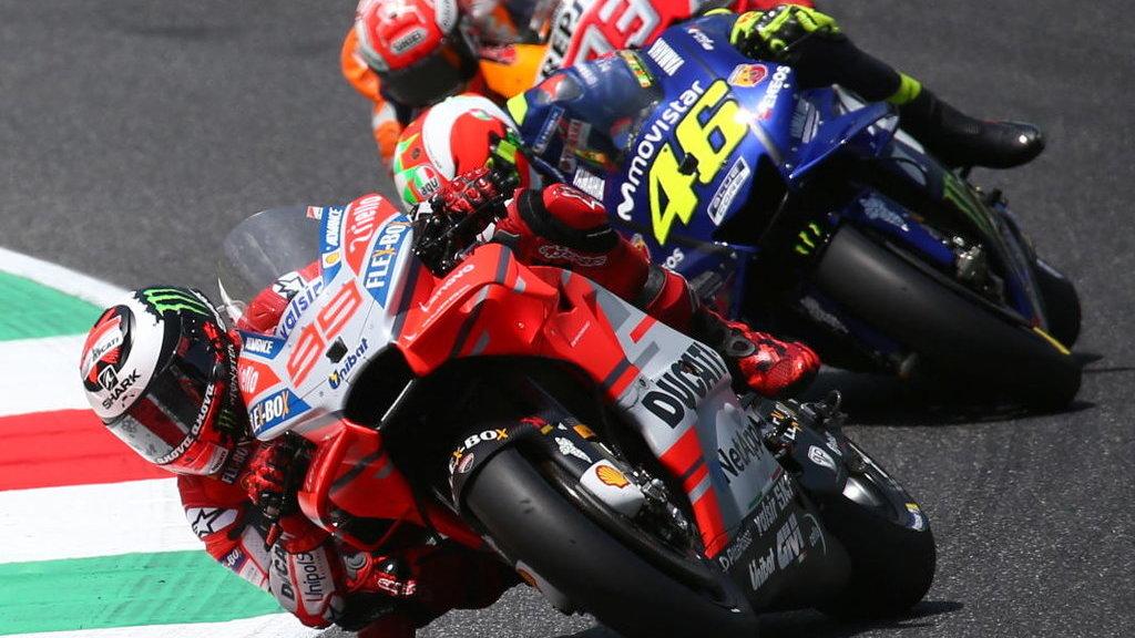 Honda Dapat Duetkan Jorge Lorenzo Marc Marquez Di Motogp 2019 Tirto Id