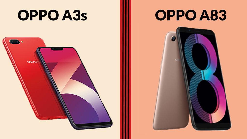 Perbandingan Spesifikasi Oppo A3s Dan A83 2018 Unggul Mana