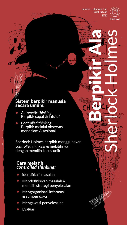 Berpikir Ala Sherlock Holmes
