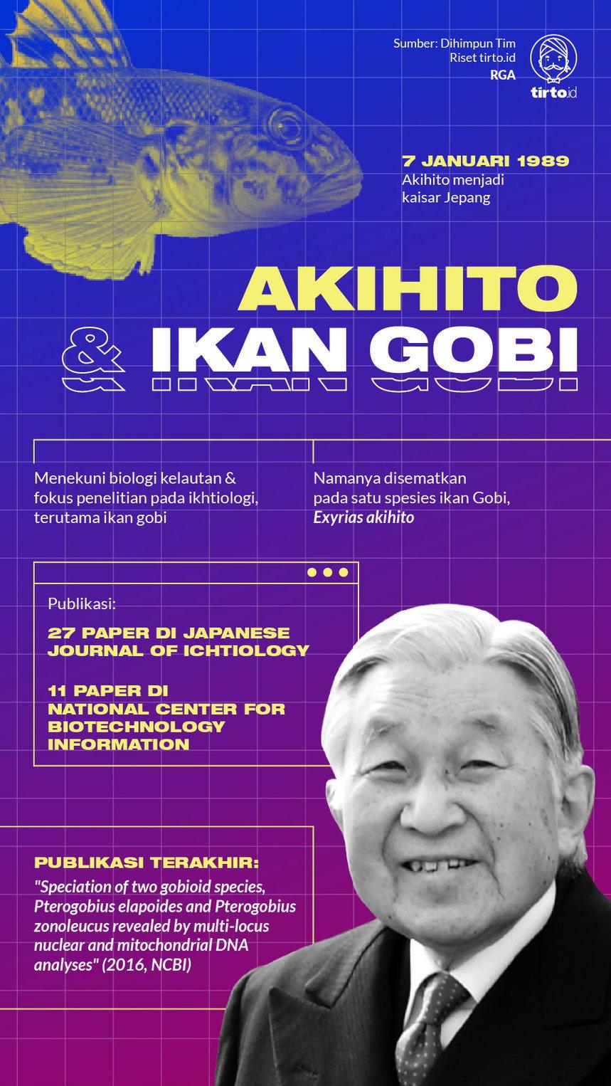Akihito Kaisar Jepang Nyeleneh Yang Cinta Sains Dan Ikan Gobi