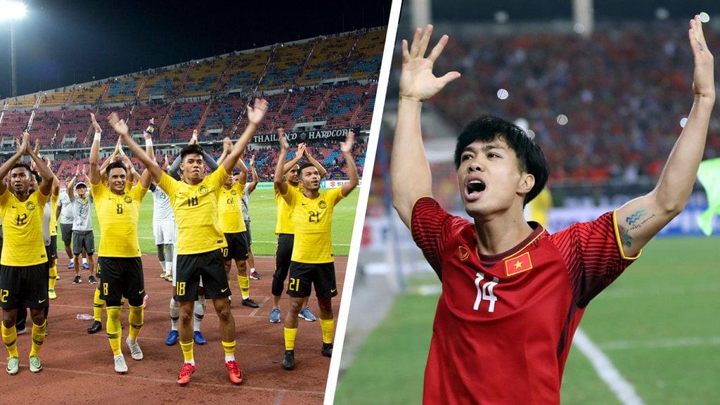 Vietnam Tahan Imbang Malaysia 2 2 Di Leg 1 Final Piala Aff 2018 Tirto Id