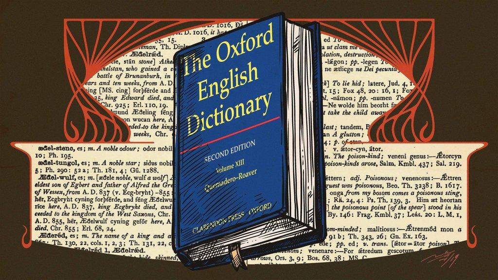 Oxford English Dictionary Ambisi Inggris Mengabadikan Bahasa