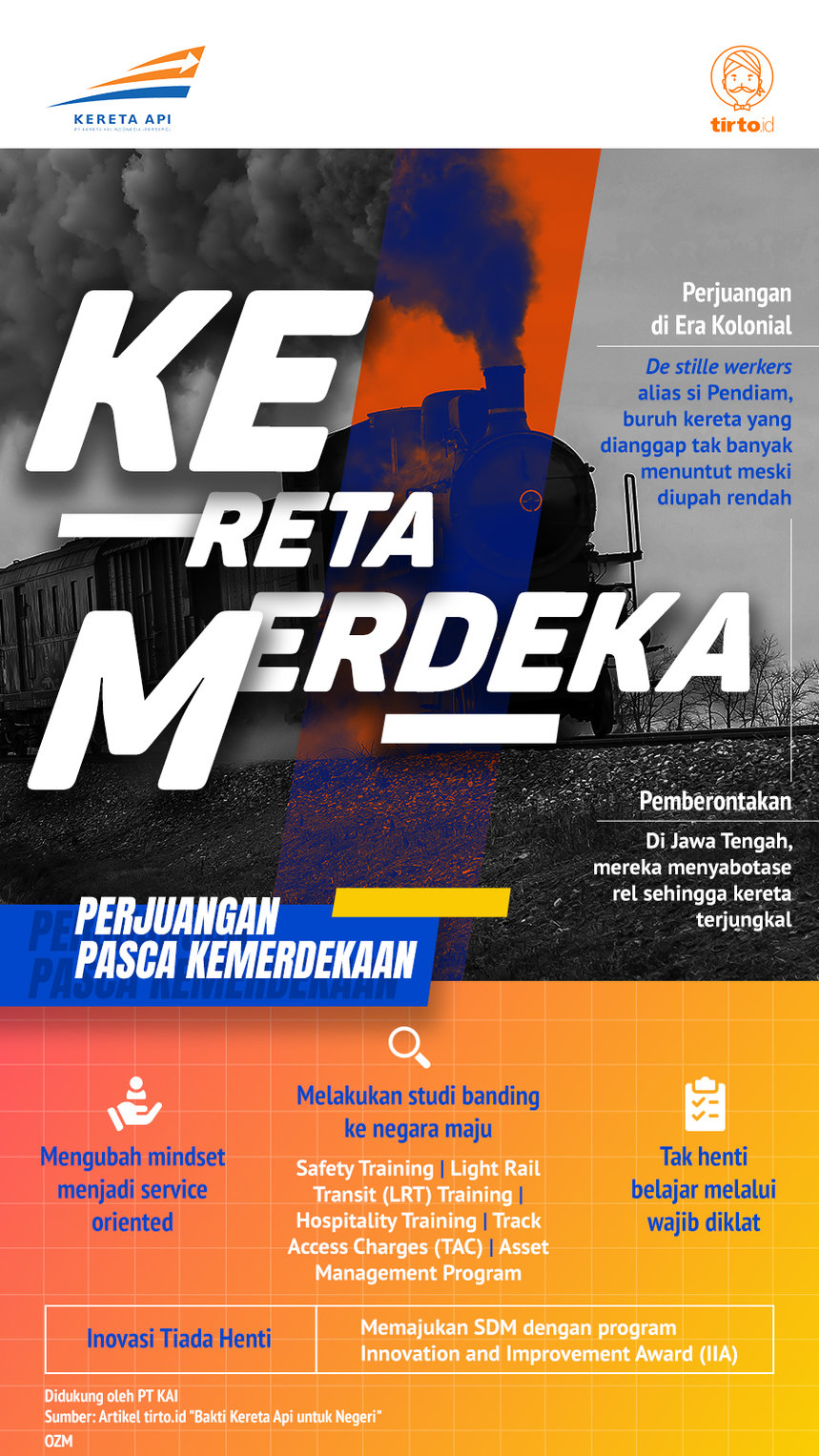 Infografik Advertorial KAI