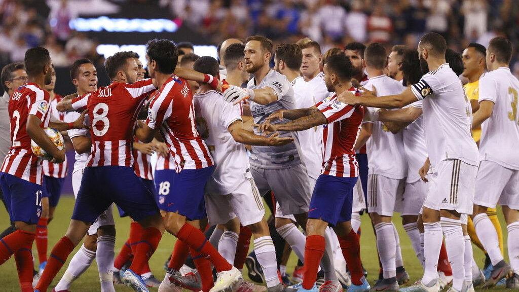 Prediksi Real Madrid Vs Atletico Madrid Piala Super Spanyol