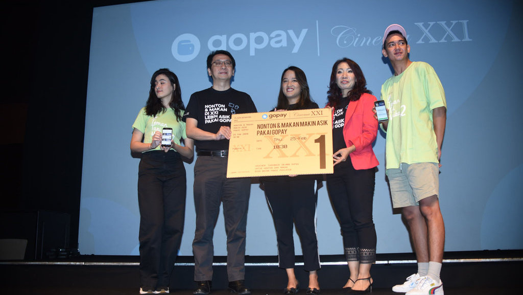 Kolaborasi Gopay Dengan Cinema Xxi