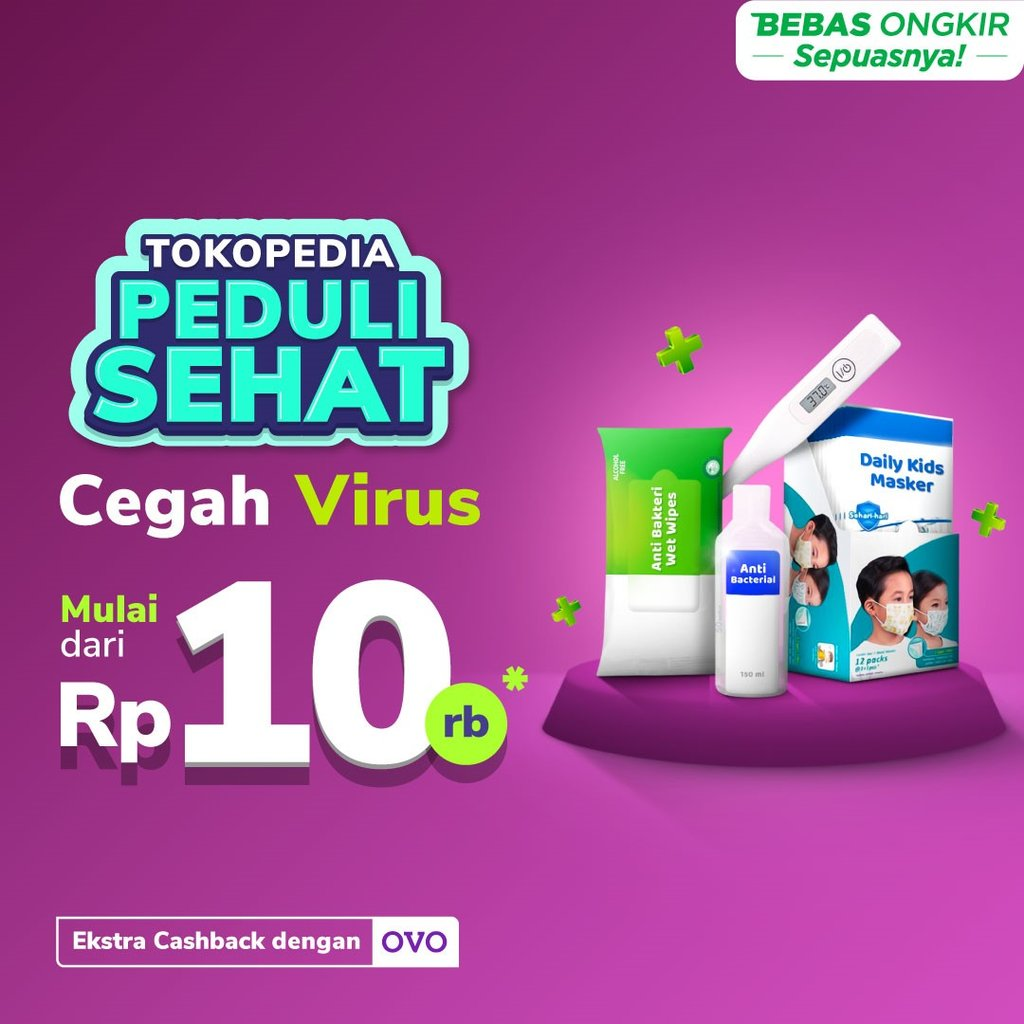 Header Advertorial Tokopedia