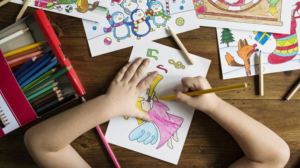 Manfaat Mewarnai Bagi Anak Tingkatkan Motorik Hingga Kreativitas