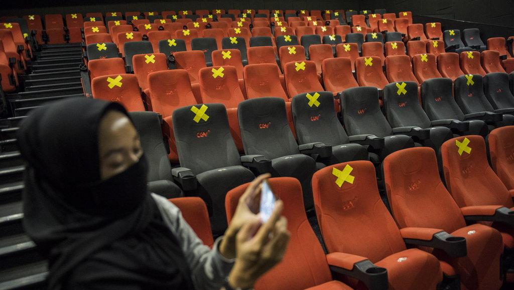 Beberapa Bioskop Jakarta Sudah Boleh Beroperasi