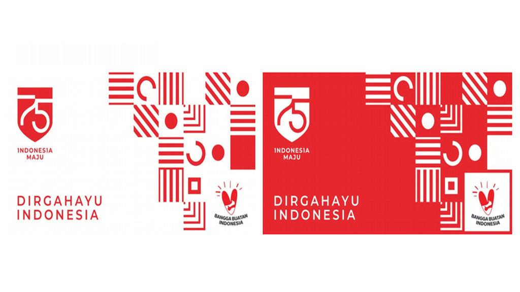 Tema Logo Hut Ri Ke 75 Bangga Buatan Indonesia Tirto Id