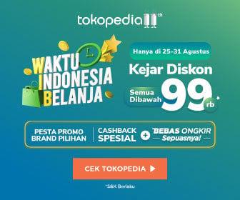 Hari Ini Acara Waktu Indonesia Belanja Tokopedia Tirto Id