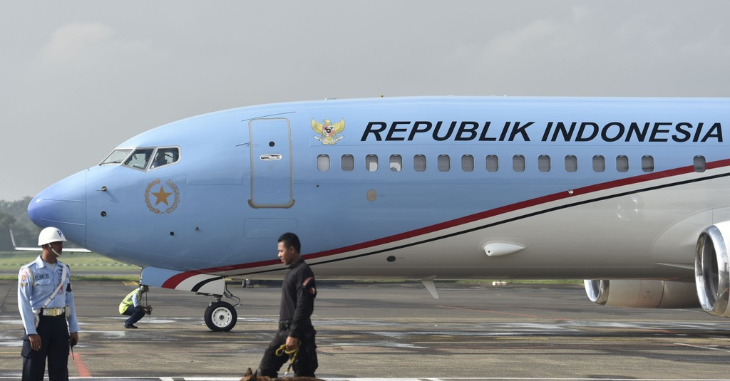 Pengecatan Ulang Pesawat Kepresidenan: Buang Uang