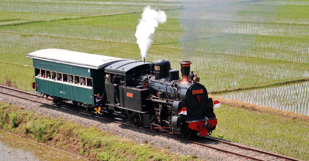 Kereta Thomas Di Ambarawa Tirto Id