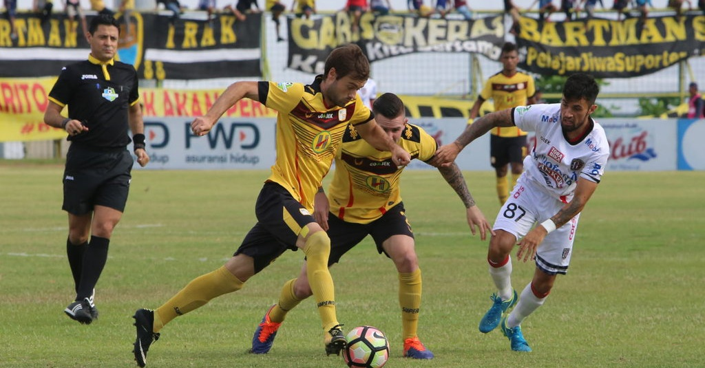 Image Result For Barito Putera Vs Kalteng Putra