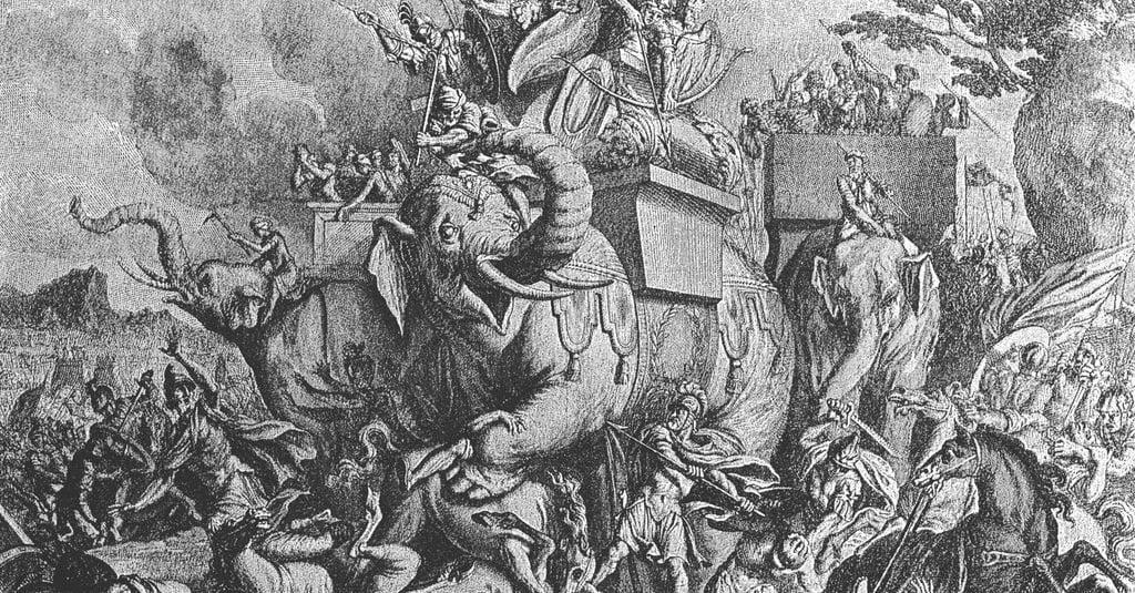 Lahirnya Nabi Muhammad Tentara Abrahah Gajah Yang Berperang