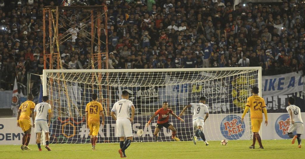 Cuplikan Gol & Highlight Sriwijaya FC vs Arema FC, 4 ...