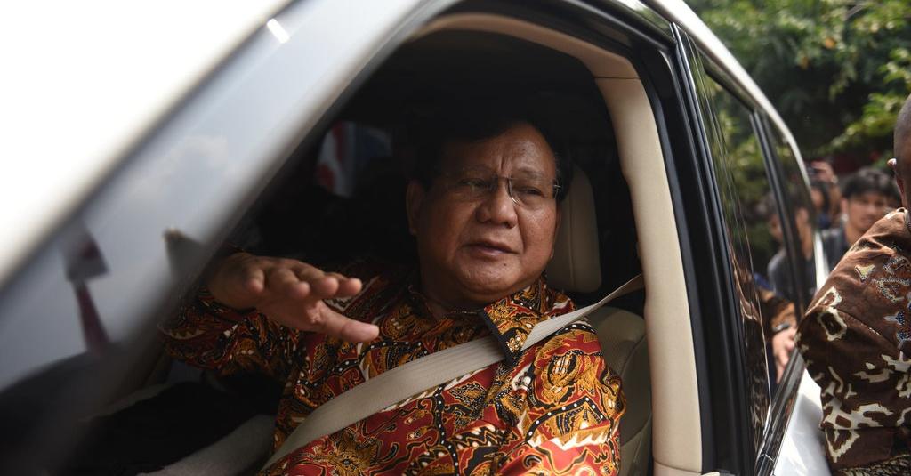 Prabowo Tiba di Kertanegara dari Rumah SBY - Tirto.ID