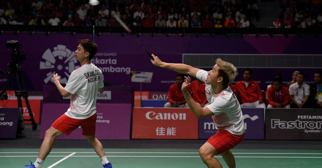 Hasil Bulutangkis Asian Games 2018, Marcus/Kevin ke ...