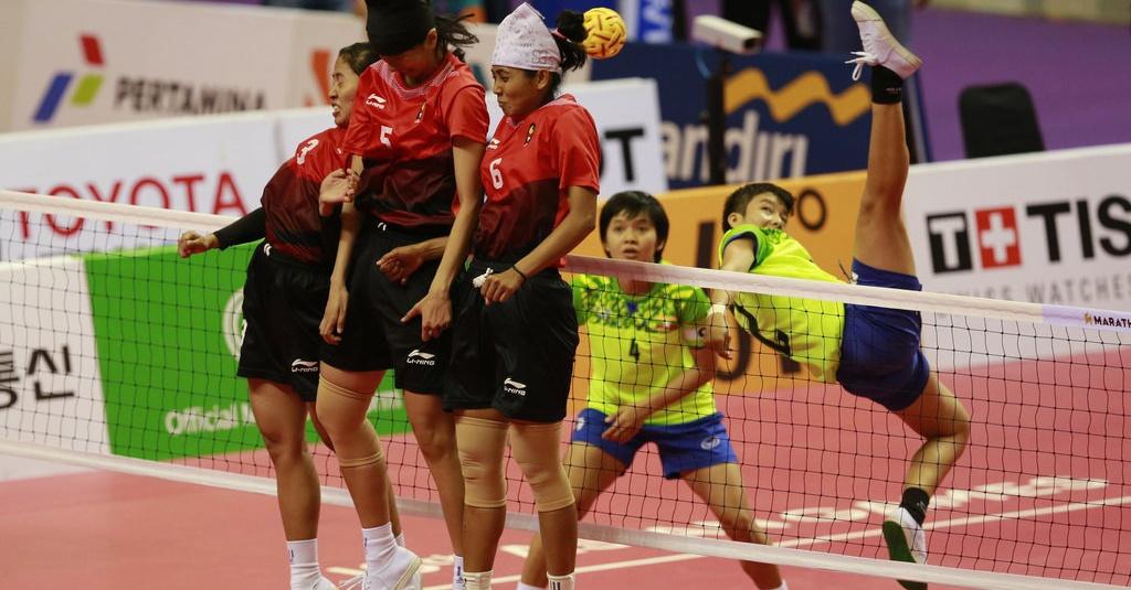 Hasil Asian Games: Tim Sepak Takraw Putri Indonesia Raih ...