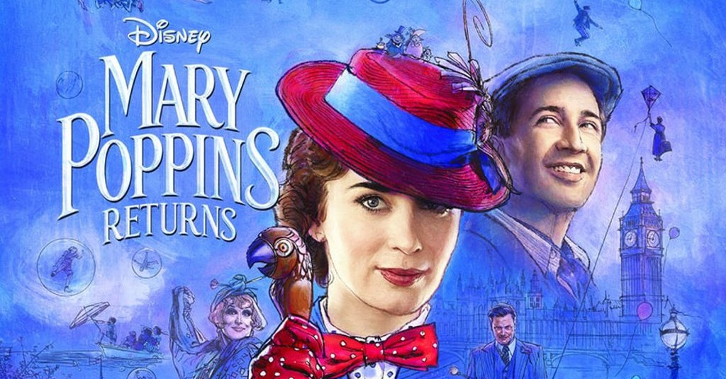 Sinopsis Mary Poppins Return 2018 Kisah Penyihir Pengasuh Anak Tirto Id