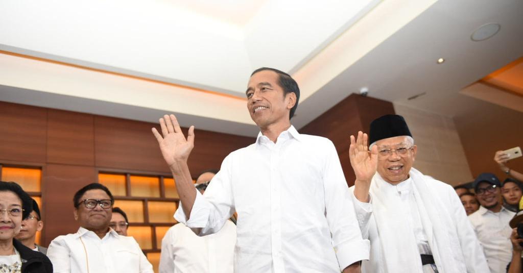 Hasil Pemilu 2019: Jokowi-Ma'ruf Menang 90 Persen Di NTT